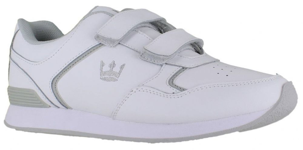 Crown White Vecro